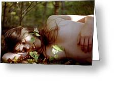 Nude In Nature 4 Greeting Card