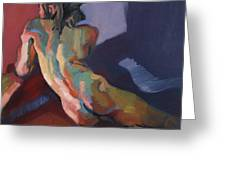 Nude Portrait Of D Greeting Card