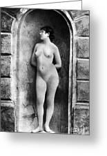 Nude Posing, C1885 Greeting Card