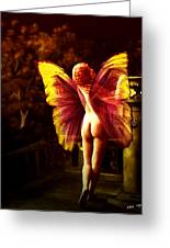 Nude Roman Fairy Greeting Card