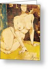 Nude Series, #3 Greeting Card