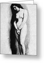 Nude Slave, 1901 Greeting Card
