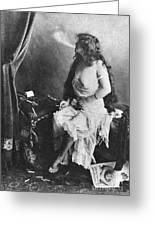 Nude Smoking, 1913 Greeting Card