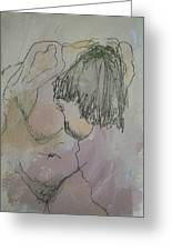 Nude Study One Greeting Card