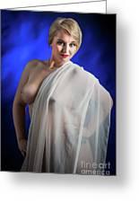 Nude Woman Model 1722  006.1722 Greeting Card