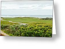 Number 1 From The Whites At Spanish Bay Greeting Card