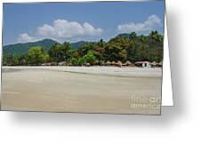 Number 2 Beach Greeting Card