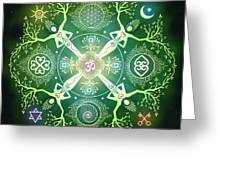 Numinosity Mandala Greeting Card