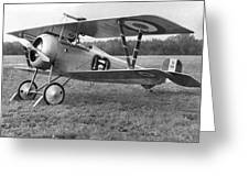 Nungesser's Nieuport 17 Greeting Card