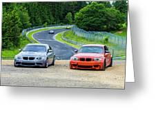 Nurburgring Race Track Greeting Card