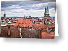 Nuremberg Altstadt Greeting Card