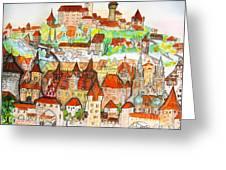 Nuremberg Germany Greeting Card