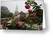 Nursery Garden Roses Greeting Card