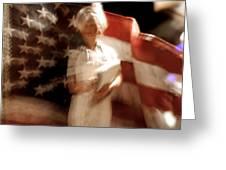 Nursing America Greeting Card