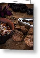 Nuts And Spices Series - Five Of Six Greeting Card