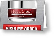 Nuvaclear Cream Greeting Card