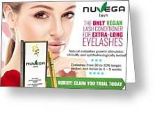 Nuvega Lash Greeting Card