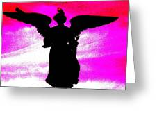 Ny Angel Greeting Card