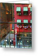 Ny Architecture Paint  Greeting Card
