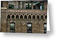 Ny Bricks 2 Greeting Card
