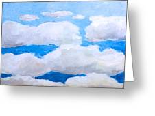 Ny Clouds Greeting Card