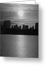 Ny Panorama Vertical Greeting Card