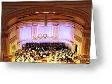 Ny Pops At Carnegie Hall Greeting Card