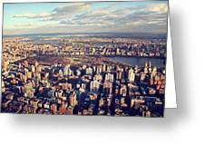 Ny Skyline View Greeting Card