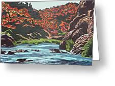 Nyangombe River Greeting Card
