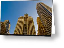 Nyc Buildings Greeting Card
