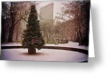 Nyc Christmas Greeting Card