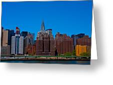 Nyc Chrysler Building  Greeting Card