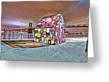 Nyc Color  Greeting Card