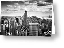 Nyc Downtown Greeting Card