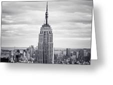 Nyc Empire Greeting Card