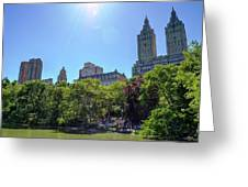 Nyc From Central Park Greeting Card