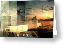 Nyc Harbor Greeting Card