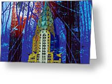 Nyc Icons Greeting Card by Gary Grayson