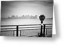 Nyc Manhattan View Greeting Card