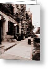 Nyc Neighborhood Series Greeting Card