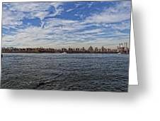 Nyc Skyline From Williamsburg Greeting Card
