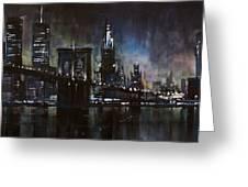 N.y.city Greeting Card
