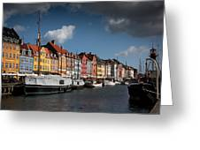 Nyhavn In Copenhagen Greeting Card