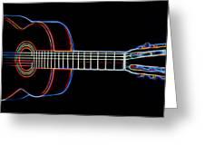 Nylon Acoustic Greeting Card