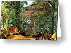 Nymph Forest Greeting Card