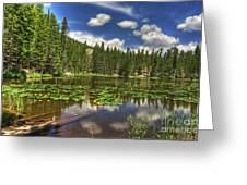 Nymph Lake 2 Greeting Card