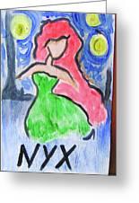 Nyx Greeting Card