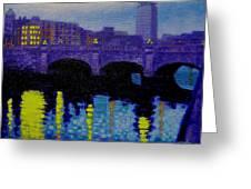 O Connell Bridge - Dublin Greeting Card