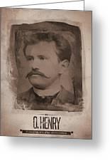 O. Henry Greeting Card