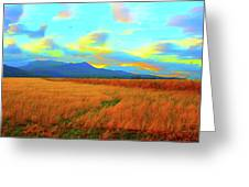 O Prairie Mother Greeting Card